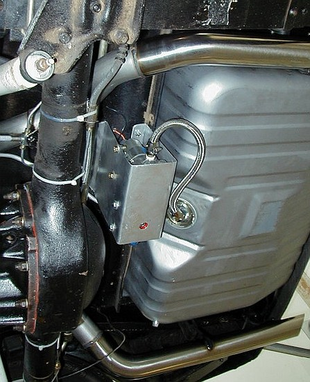 mounting electric fuel pump